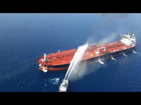 USA/Iran: USA geben Iran Schuld an den Schiffsangriff ...