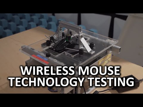 Wireless Mouse Technology Testing at the Logitech Daniel Borel Innovation Center