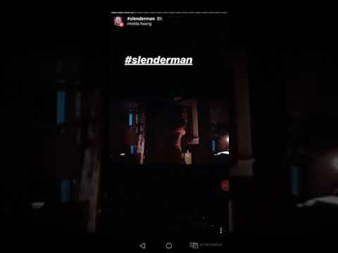 Slender Man 2018 jumpscare scene