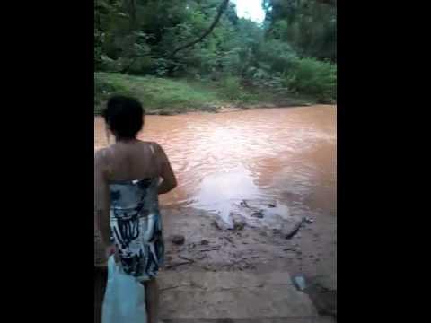 O rio de São Gonçalo do Gurguéia