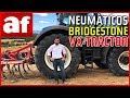 Probamos los neumáticos Bridgestone VX-Tractor