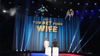 Video Ellen's New Game, 'You Bet Your Wife' MP3, 3GP, MP4, WEBM, AVI, FLV Desember 2018