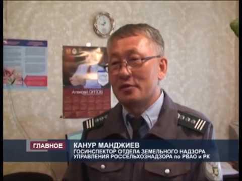 О нарушениях земельного законодательства на территории Республики Калмыкия