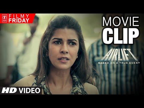 AIRLIFT MOVIE CLIPS 5 - Nimar Kaur Defends Her Husband (Akshay Kumar)