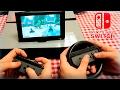 Nintendo Switch Jugando A: Splatoon 2 Arms Mario Kart 8