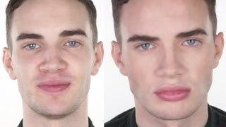 Male Make-up - Natural & Flawless | John Maclean