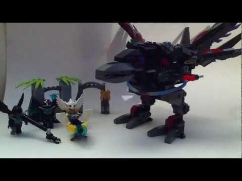 Vidéo LEGO Chima 70012 : L'attaque Condor de Razar