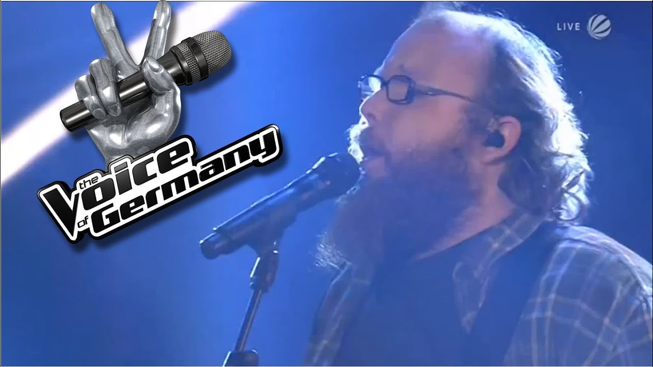 Andreas Kümmert: With A Little Help From My Friends  | The Voice of Germany 2013 | Live Show