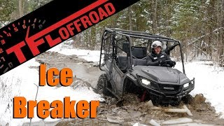 1. 2019 Honda Pioneer 1000-5 vs Snowy Canadian Winter Plus Bonus Top Speed Run!