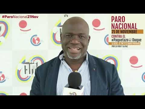 Manuel de Jesús Rivas invita al #ParoNacional21N