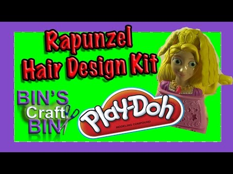 Princess - Join Bin as she Reviews and Plays with the Play Doh Rapunzel Hair Design Kit creating hair designs with the sparkle gold and pink Play Doh! Remember to Subscribe to the Channel, Like and ...