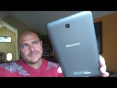 New Hisense Sero 8 Quad Core Android Tablet
