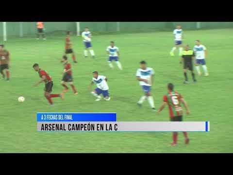 Arsenal campeón de la C.