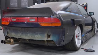 Installing Wide Body Fenders on a 240sx! by TJ Hunt