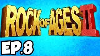 Rock of Ages 2 Ep.8 - BURNING GIRAFFE, DON QUIXOTE, WHALE & WINDMILL!!! (Gameplay / Let's Play)