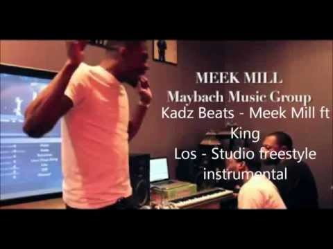 Meek Mill ft Los - Studio Freestyle Instrumental - @kadzbeats