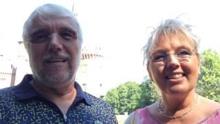 Werner und Silvia Hoymann erklären ihren
