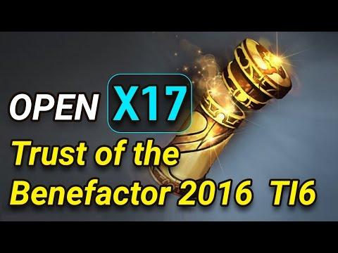 Dota2 Open x17  Trust of the Benefactor 2016 ti6