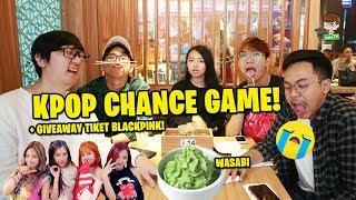 Video CHANCE GAME WASABI SAMPE KENYANG dan BAGI-BAGI 4 TIKET BLACKPINK! MP3, 3GP, MP4, WEBM, AVI, FLV Februari 2019