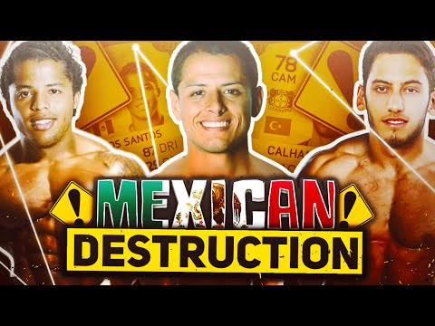 FIFA 16 - MEXICAN ANAL DESTRUCTION! - SQUAD BUILDER - FIFA 16 ULTIMATE TEAM