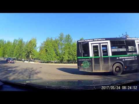 Авария с пешеходом в Уфе