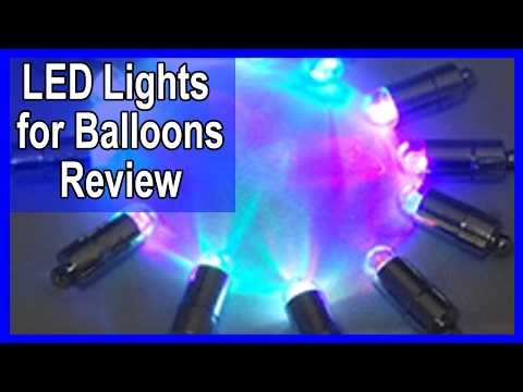 Balloon Lights - LED Glow Balloons - LED Light Up Balloons Review