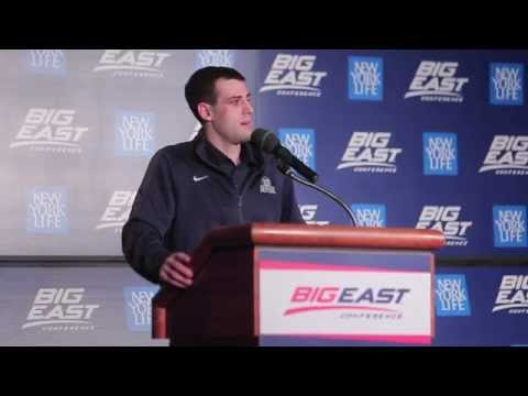 Alex Barlow Named BIG EAST Student-Athlete of the Year