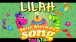 Tina&Tin Happy Birthday LILAH