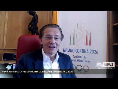 MONDIALI DI SCI, LA FIS CONFERMA LA DATA DEL 2021 | 02/07/2020