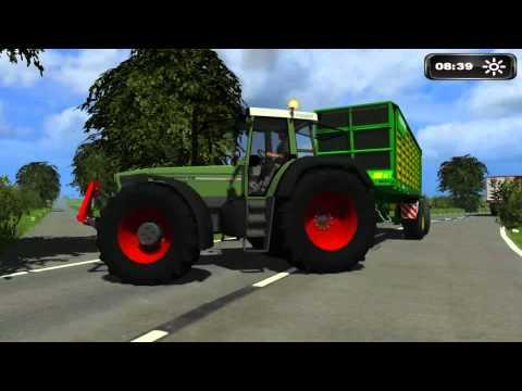 Landwirtschafts Simulator 2011 ll 100 Abonnenten Special GrasHäckseln in Neunaspe