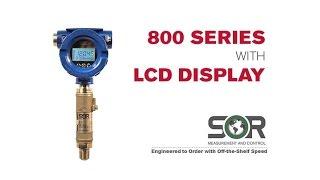800 Series LCD Explosion Proof Display