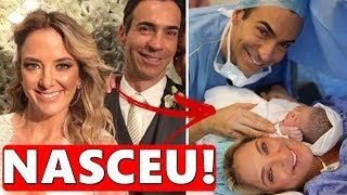 Notícias dos famosos - Ticiane Pinheiro e Cesar Tralli postam primeira foto da filha e mensagem emociona.