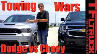 Muscle vs Brawn: Can the 475 HP Durango SRT Out Tow the Tahoe? by The Fast Lane Truck
