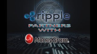 Ripple CEO Announces Partnership with MoneyGram - For Cross Border Payments - Ripple XRP