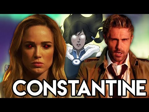 Constantine vs Mallus & Avatar Easter Eggs - Legends of Tomorrow 3x10 Review
