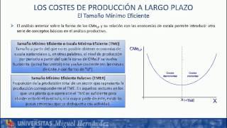 Umh1184 2012-13 Lec008-2 Los Costes A Largo Plazo