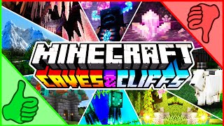 Minecraft's Most Ambitious Update EVER 1.17 Caves & Cliffs!