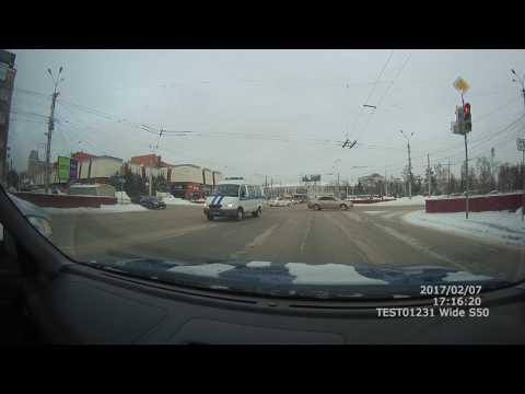 Авария с полицией