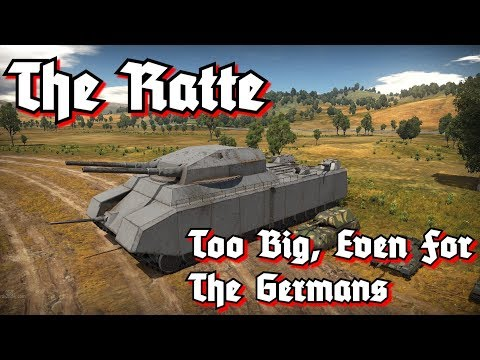 Tank Files: The Ratte - The Largest Tank Never Built