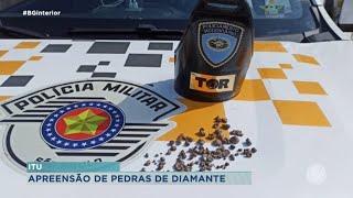 Sorocaba: apreensão de diamantes na rodovia Castelo Branco