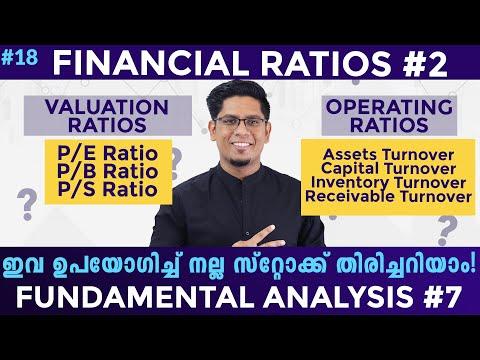P/E, P/B Ratio & More - Financial Ratios 2 - Analyze Stocks | Fundamental Analysis 7 Malayalam Ep 18