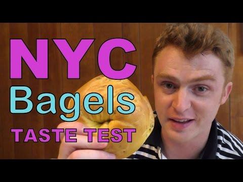 VIDEO: New York City Bagels Taste Test