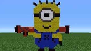 Minecraft Tutorial: How To Make A Despicable Me Minion