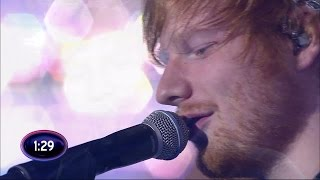 Ed Sheeran - Thinking out loud (live on Swedish Idol)
