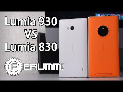 Сравнение Nokia Lumia 830 и Nokia Lumia 930. Что лучше и почему. Полный обзор от FERUMM.COM (видео)