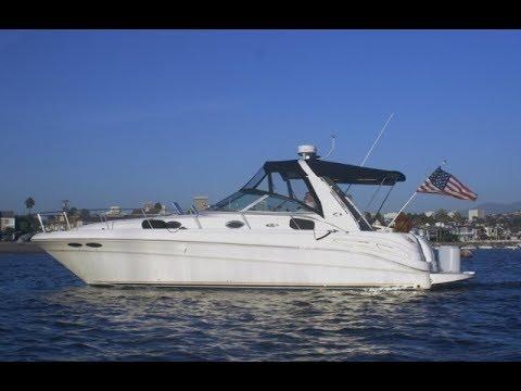 Sea Ray 340 Sundancervideo