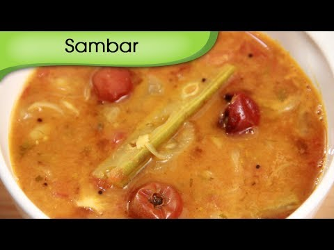 Sambar – South Indian Lentil and Vegetable Curry – Vegetarian Recipe By Ruchi Bharani [HD]