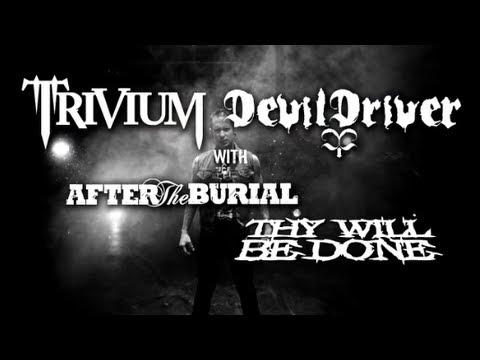 Trivium & DevilDriver - 2013 North American Tour - Leg 2