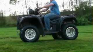 4. Honda Foreman Rubicon 4x4 ATV TRX 500 ride along...HD