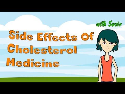 Side Effects Of Cholesterol Medicine